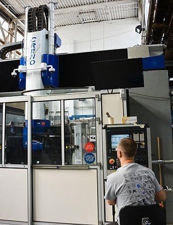 MRAS high-speed drilling machine